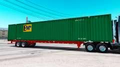 Semitrailer container EMP