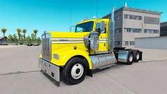 Skin Smooth, Yellow on the truck Kenworth W900