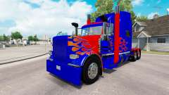Skin Optimus Prime v2.1 for the truck Peterbilt