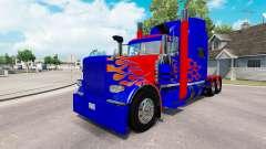 Skin Optimus Prime v2.1 for the truck Peterbilt