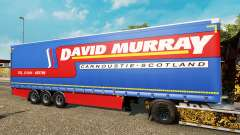 Curtain semitrailer Krone David Murray for Euro Truck Simulator 2