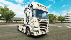 Skin Simply the Best on the tractor Scania Strea
