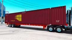 Semitrailer container STAX