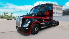 Skin Canadian Express Black truck Kenworth