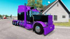 Race Inspired skin for the truck Peterbilt 389