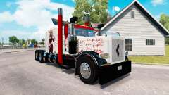 Harley Quin skin for the truck Peterbilt 389