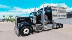 Skin Redskin v1.2 on the truck Kenworth W900