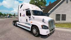 Skin Load One on a truck Freightliner Cascadia