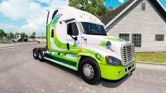 Skin Hybrid tractor Freightliner Cascadia