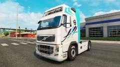 Skin for Volvo truck for Euro Truck Simulator 2