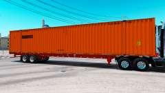 Semitrailer container Schneider
