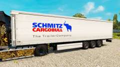 Skin for Schmitz semi-trailers