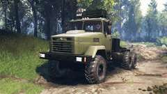 KrAZ-6322 v3.0 for Spin Tires