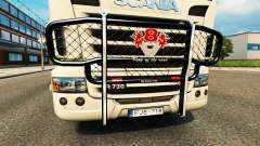 The bumper V8 v2.0 truck Scania