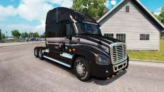 The skin of the MARTEN on the truck Freightliner