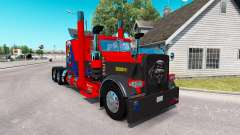 Skin Nevada USA for the truck Peterbilt 389