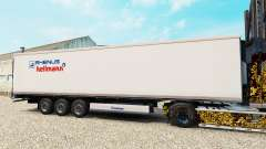Skin Rhenus Hellmann on the semitrailer-the refr
