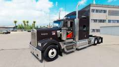 Skin Gallon Oil truck Kenworth W900
