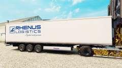 Skin Rhenus Logistics for semi-refrigerated