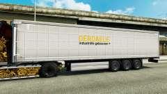 Skin Derdaele on semi for Euro Truck Simulator 2