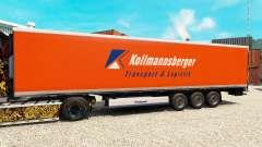 Skin Kollmannsberger for semi-refrigerated
