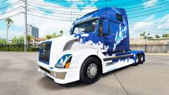 Blue Shark skin for Volvo truck VNL 670
