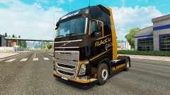 Black Gold skin for Volvo truck