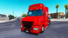 Dom Toretto skin for truck Scania T