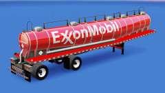 Skin ExxonMobil chemical tank