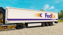 FedEx skin for trailers