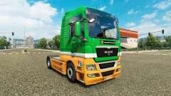 Karcag Trans skin for MAN truck