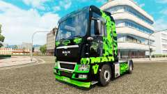 Green Dragon skin for MAN truck