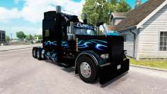 Bluesway skin for the truck Peterbilt 389