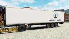 Skin Kuehne & Nagel for semi-refrigerated