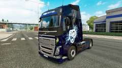Stylish skin for Volvo truck