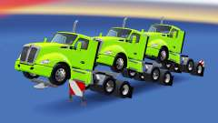 Trailers from tractors