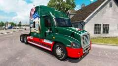 Скин INTERSTATE 80 Year на Freightliner Cascadia