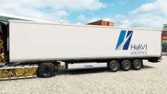 Skin HAVI Logistics for semi-refrigerated