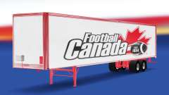 Skin Football Canada on the trailer