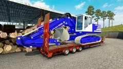 Skin T. van der Vijver at low sweep for Euro Truck Simulator 2