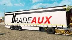 Curtain semitrailer Krone Tradeaux