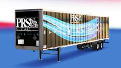 Skin PRS Guitars on the trailer