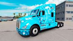 Skin Skype on a Kenworth tractor
