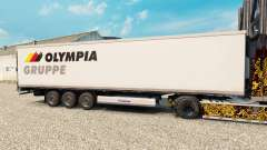 The skin Olympia Gruppe for semi-refrigerated