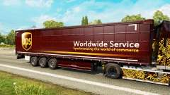 Skin UPS for trailers for Euro Truck Simulator 2
