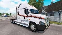 Skin on METROPOLITAN truck Freightliner Cascadia