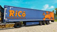 Skin Rico on trailers for Euro Truck Simulator 2