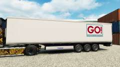Skin GO for semi-refrigerated for Euro Truck Simulator 2
