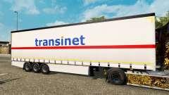 Curtain semitrailer Krone TransiNet