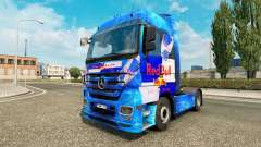 Red Bull skin for the truck Mercedes-Benz
